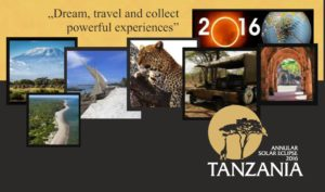 Tanzania 2016 Annular Solar Eclipse Safari