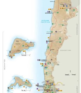 Chile Tourist Map 2019 solar eclipse tour Chile 2019 Solar Eclipse Tour - Santiago, Atacama Desert & La Serena Chile Tourist Map