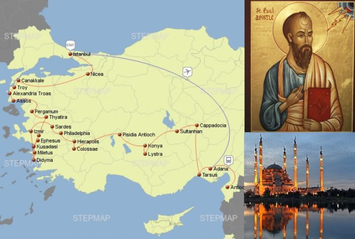 Footsteps of Paul Turkey Tour seven churches of revelation Seven Churches of Revelation Tour Footsteps of Paul Turkey Tour