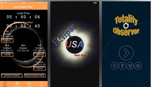 2017 Solar Eclipse Phone Apps