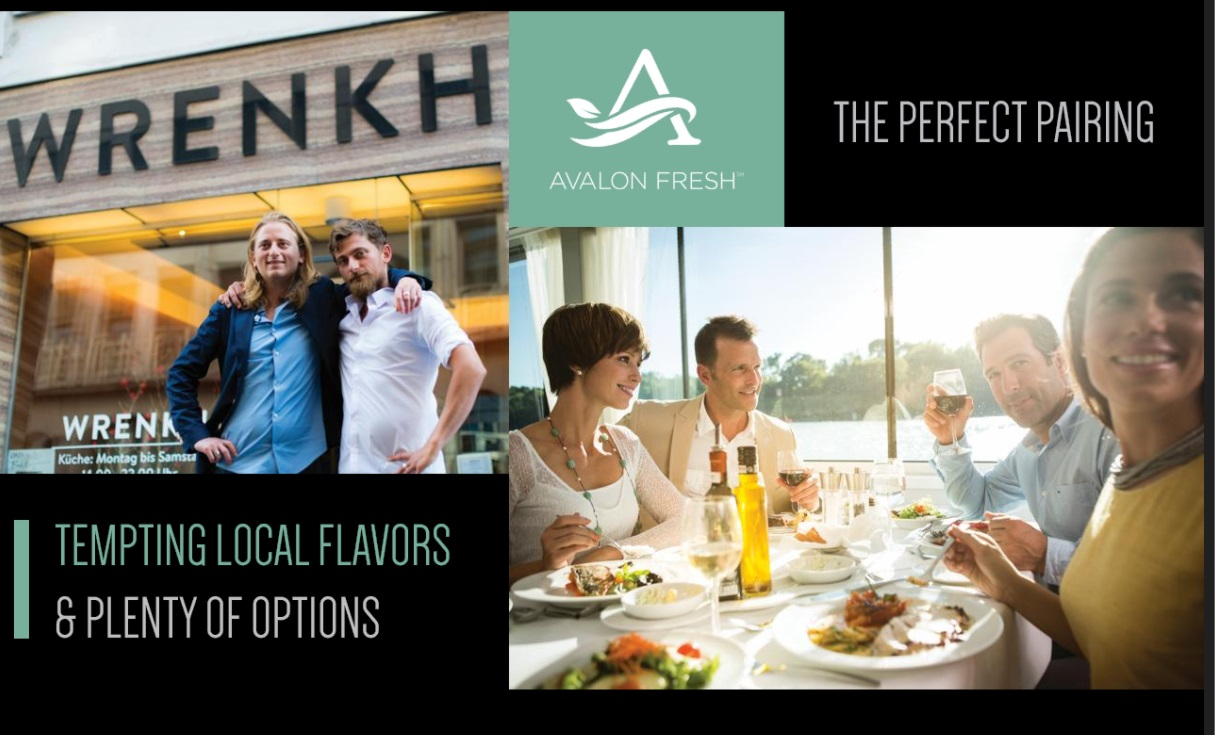 Avalon Dining Options