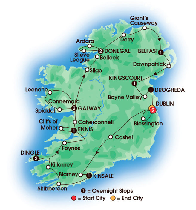 Tours to Ireland: Jewels of Ireland Tour tours to ireland Spring Sale Tours to Ireland 2017 Jewel Tours to Ireland 14Day