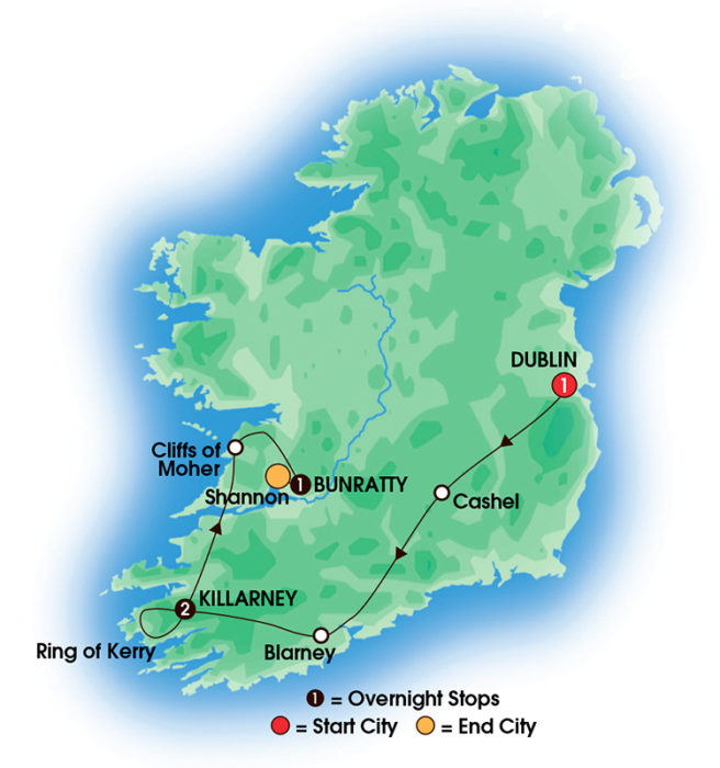 tours to ireland Spring Sale Tours to Ireland 2017 Taste OfIreland 5 DayTours to Ireland