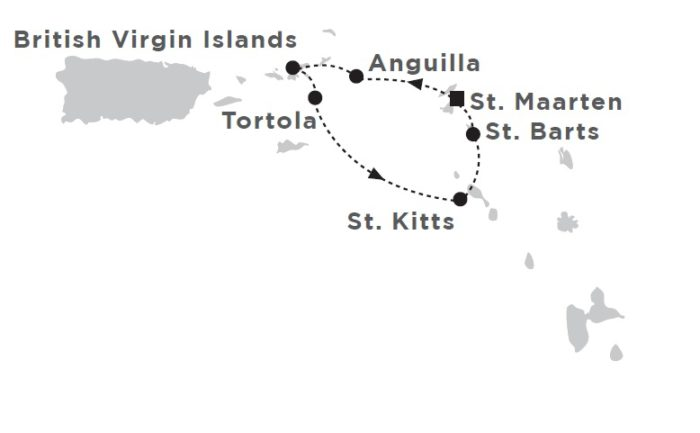 Star Flyer Caribbean Cruise Itinerary caribbean cruise Star Flyer Caribbean Cruise from St. Maarten Star Flyer Caribbean Cruise Itinerary