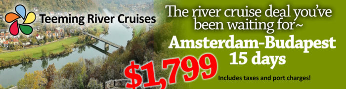 european river cruise European River Cruises Super Specials Teeming River Cruise