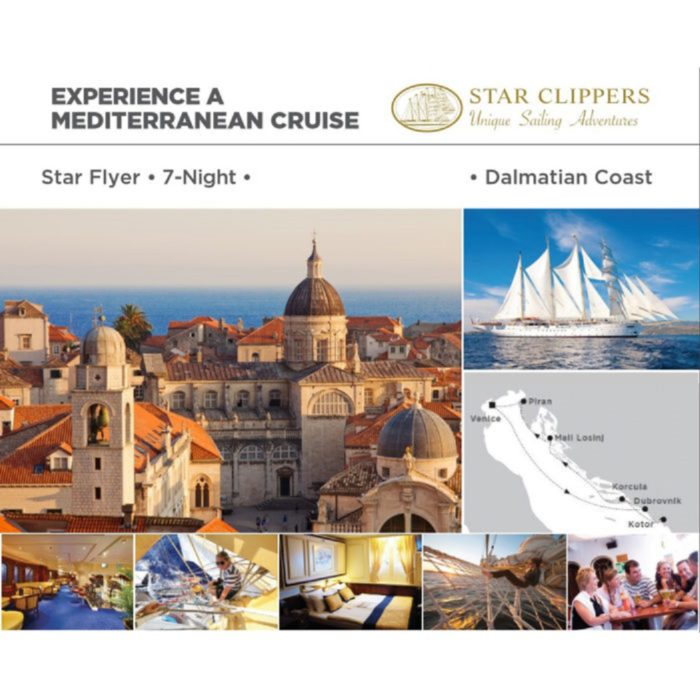 dalmatian coast cruise Star Clippers Dalmatian Coast Cruise Sept 29, 2018 Star Clippers Dalmatian Coast Cruise